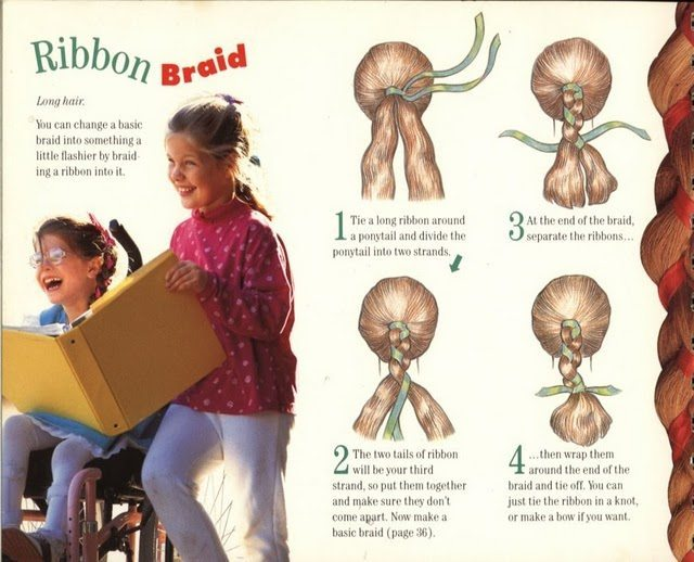как вплетать в косы искусственные волосы