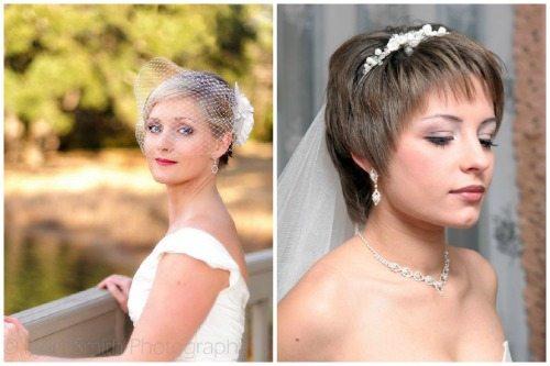 элегантные прически у невест