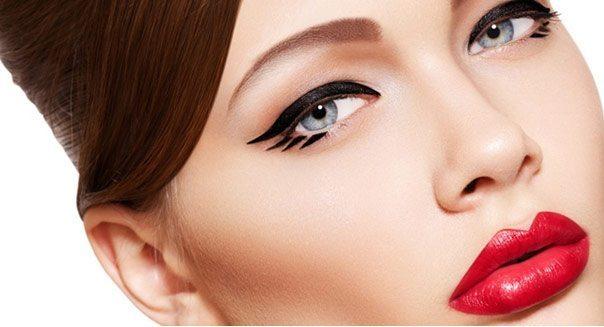 девушка с кошачьими глазами