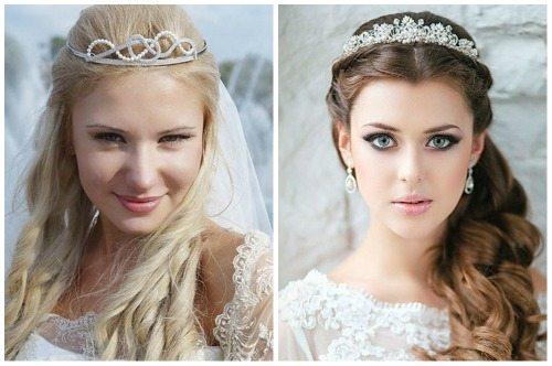 невеста с диадемой
