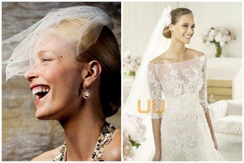 невесты с гладкими укладками