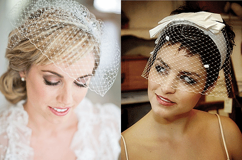 невесты с винтажной фатой