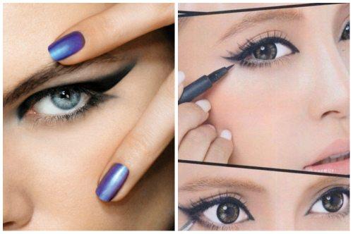 яркий makeup