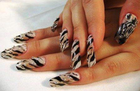 Рисование на ногтях акриловыми красками. Техника для начинающих