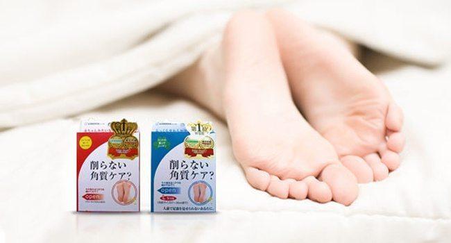 эффект после японских педикюрных носков