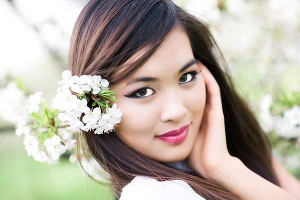 симпатичная китаянка