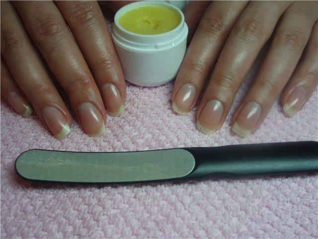 запечатывание ногтевой пластины
