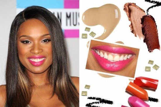сочно накрашенные губы