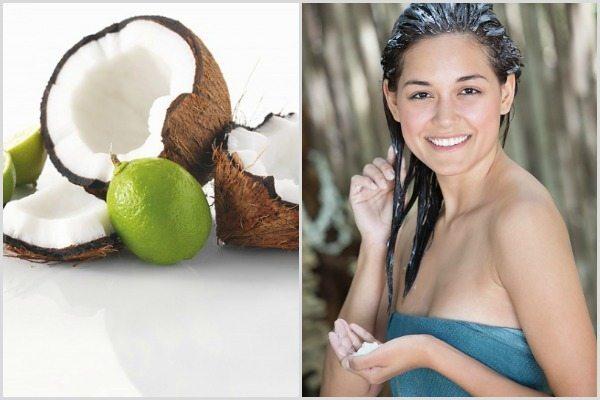 кокосовое масло для шевелюры