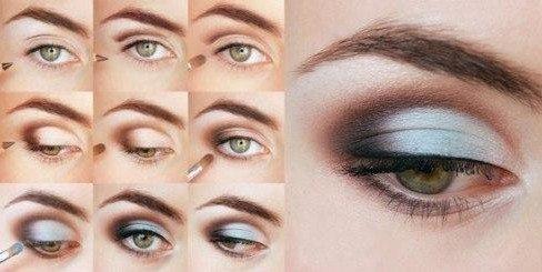 серый make up