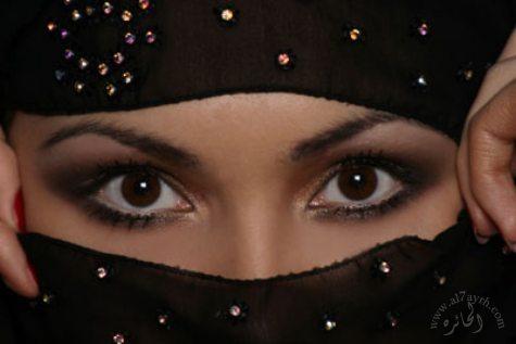 глаза восточной девушки