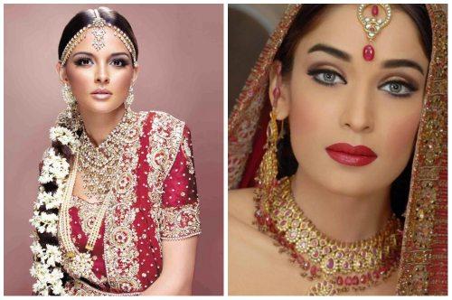 Индийский макияж для девушек: пошаговое нанесение или как 86