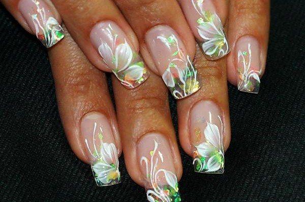 лессировка на ногтях