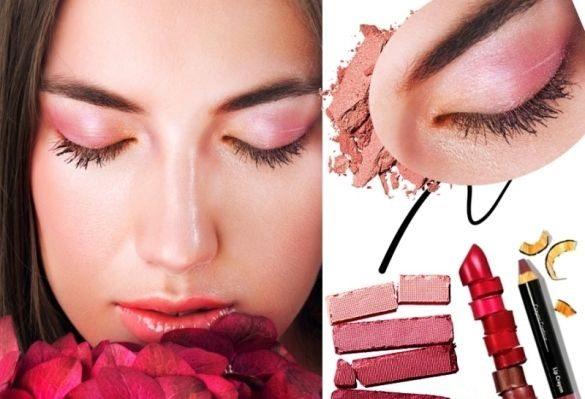 весенний розовый мейкап 2014