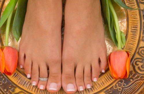 ухоженные ножки