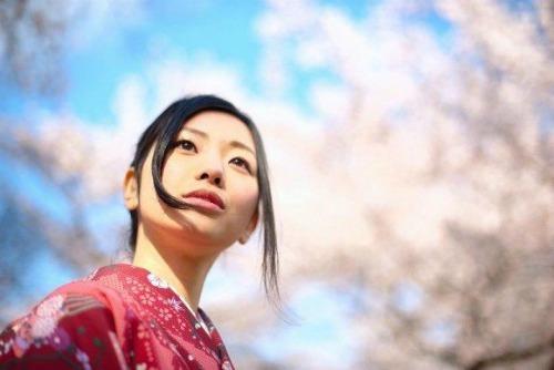 японка в кимано