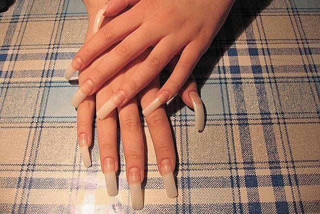 Как нарастить ногти в домашних условиях пошагово фото