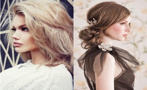 блондинка и русая девушки