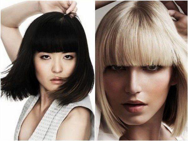 темноволосая девушка и  девушка блонд