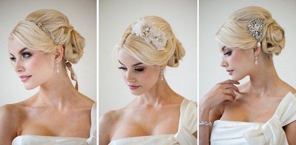 невеста с гребнем на голове
