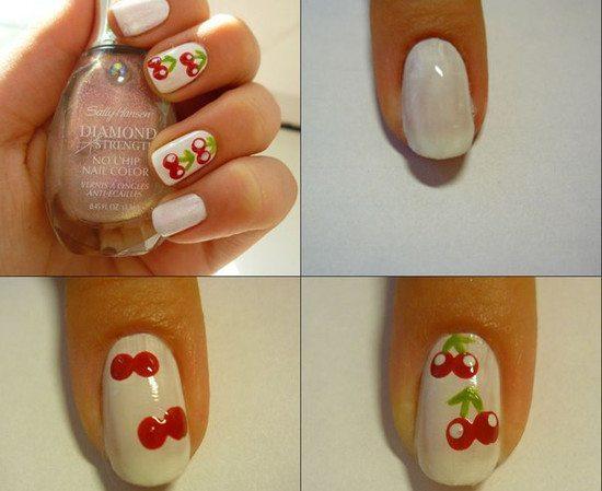 фото ногти простые