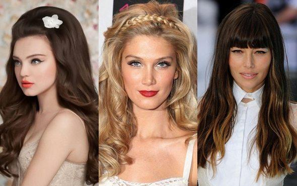 3 разные по типу девушки
