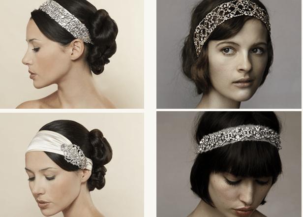 повязки и ленты на голове