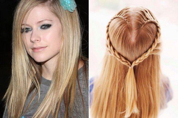 Делаем прическу на длинные волосы: фото причесок 45