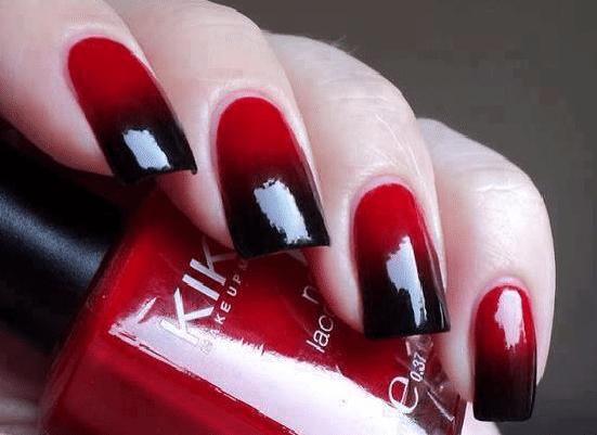 Черно красный дизайн