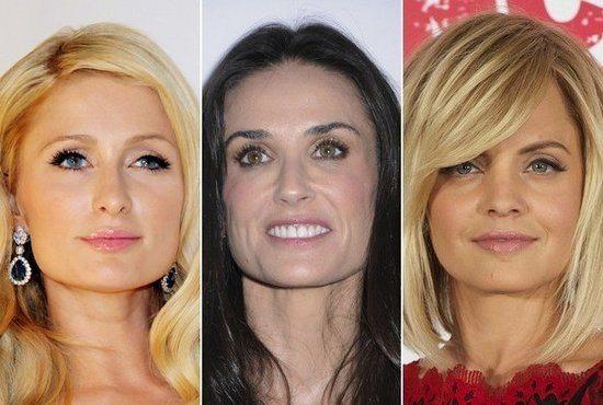 Голливудские звезды с квадратным лицом