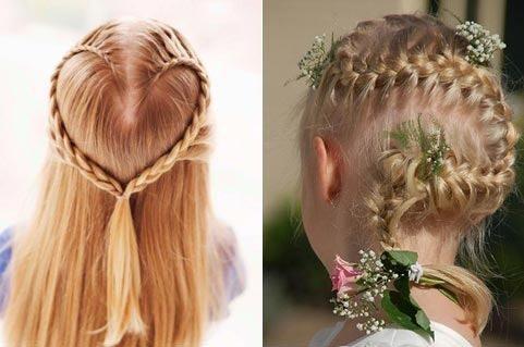 2 разные косы