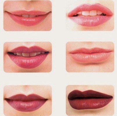 Вариации татуажа губ