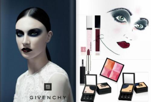 коллаж средств для создания make up Panda eyes