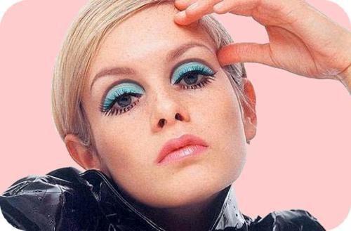 макияж Твигги
