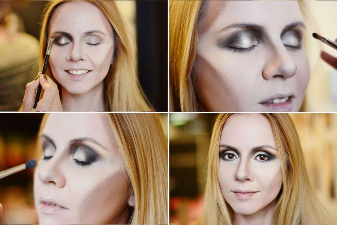 макияж глаз в стиле Малефисенты