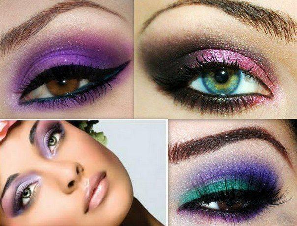 макияж для ночного клуба