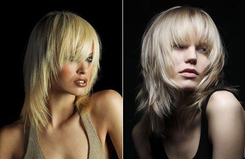 русая красавица и блондинка