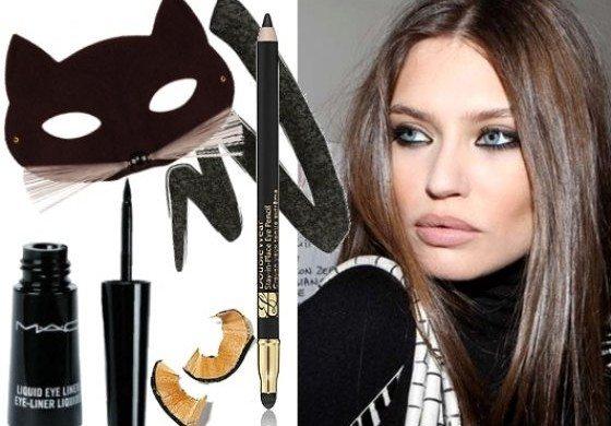 коллаж с косметикой для создания make up