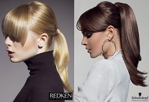 две разные по внешности модели