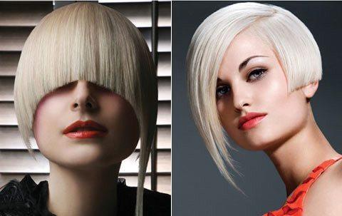 две яркие блондинки