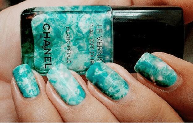мраморный лак от Chanel