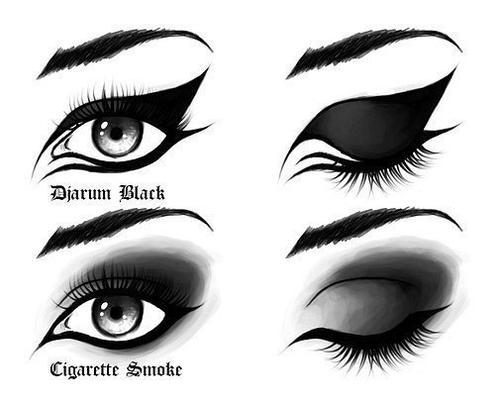 разновидности make up глаз