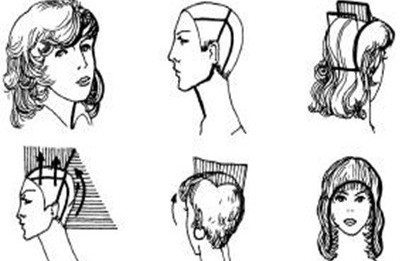 Поэтапная техники женских стрижек