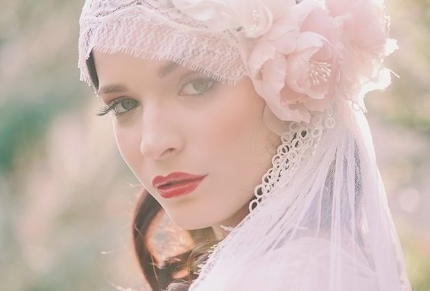винтажная ретро невеста