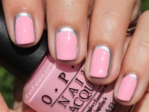 розово- серый дизайн