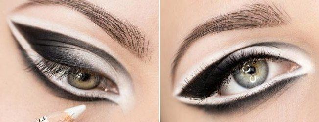 make up в двух цветах