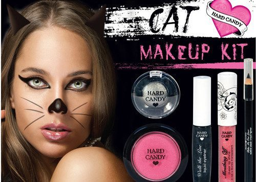 cat makeup на Хэллоуин