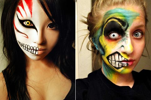 детский зомби make up