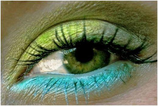 мейк ап для зеленоглазых красавиц
