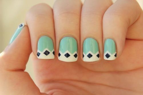 интересное решение nail art